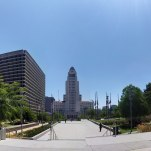 Los Angeles City Hall & Criminal Justice Court in Downtown LA