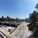 Overlooking 101 Freeway