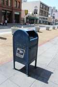 Mailbox outside Grand Central Market