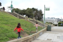 Kids at Alamo Square